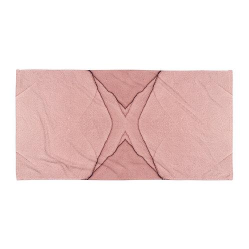 Pink Paint Towel
