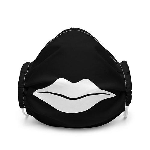White Lip Face Mask