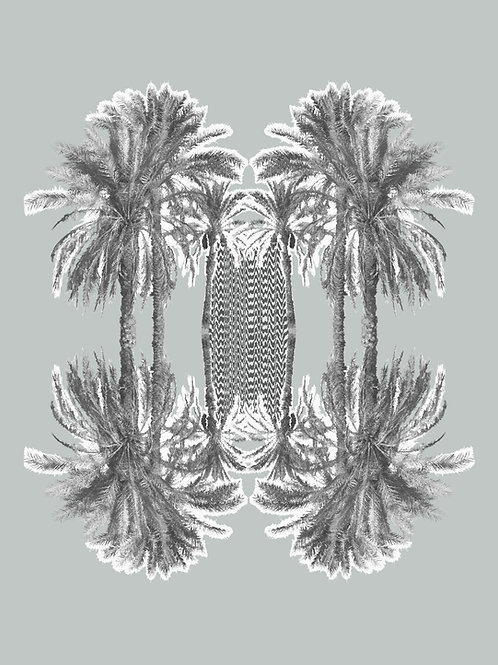 Grey Palm Tree Signal