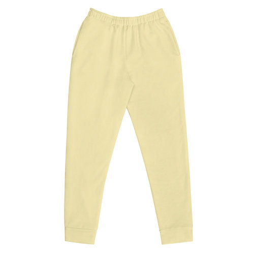 Light Yellow  Joggers