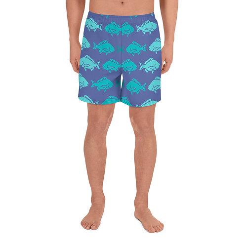 Blue Fish Shorts