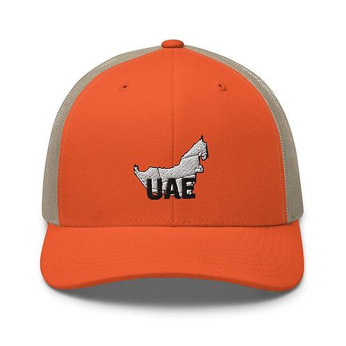 UAE Map Trucker Cap
