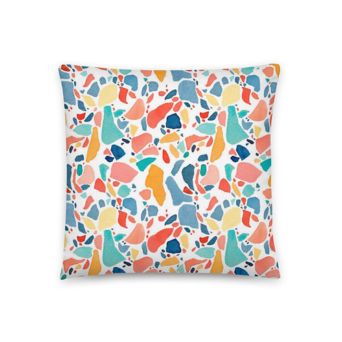 Multicolor Pattern Basic Pillow