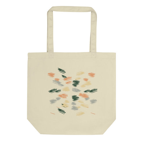 Paint Strokes Eco Tote Bag