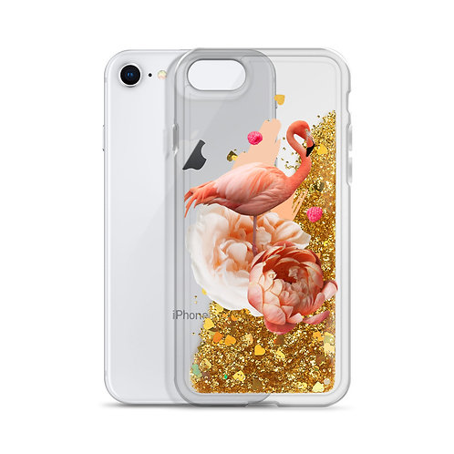 Flamenco Liquid Glitter Phone Case