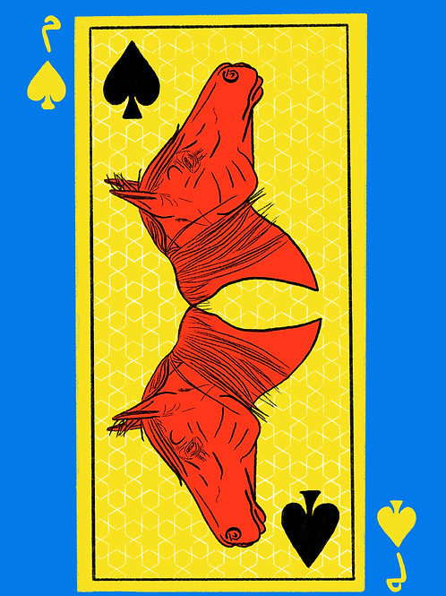 Red Horse of Spades
