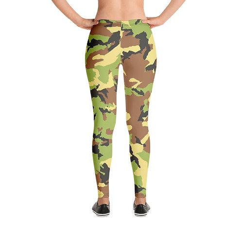 Military Pattern Leggings