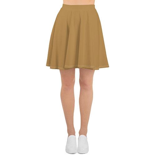 Gold Skater Skirt