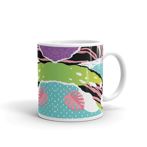 Leafs Pattern Mug