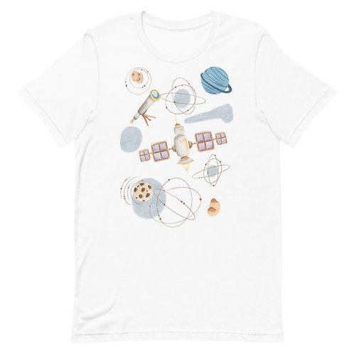 Outer-space Short-Sleeve T-Shirt