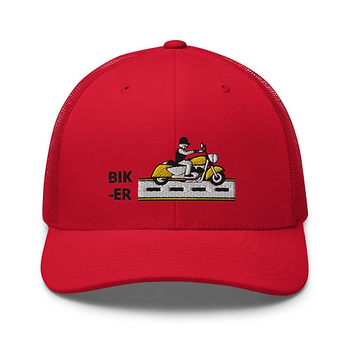 Biker Trucker Cap