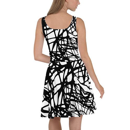 Sketch Skater Dress
