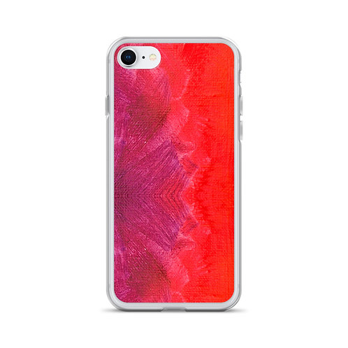 Red Paint iPhone Case