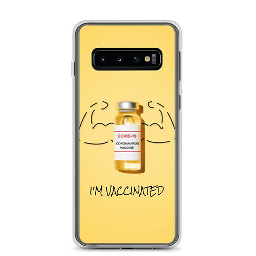 I'm Vaccinated Samsung Case