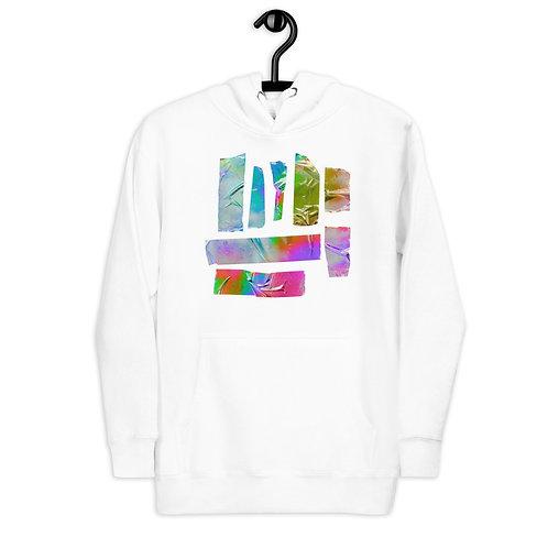 Multi Color Tape Hoodie