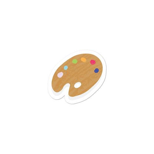 Paint Bubble-free sticker