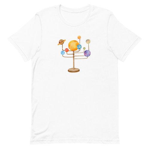 Arabs to Mars Watercolor Short-Sleeve T-Shirt