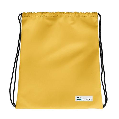 Yellow Drawstring bag