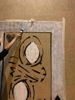 Mural in Ajman