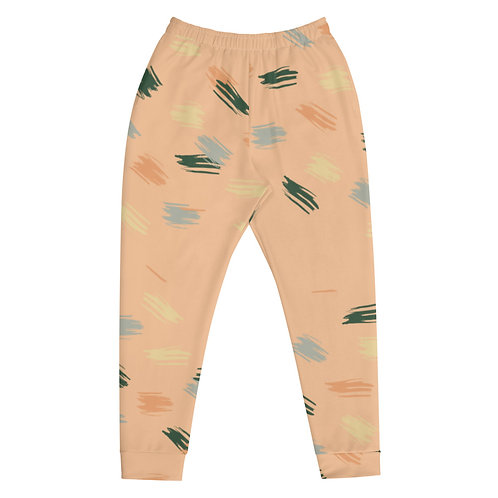 Multicolor Scattered Paint Joggers