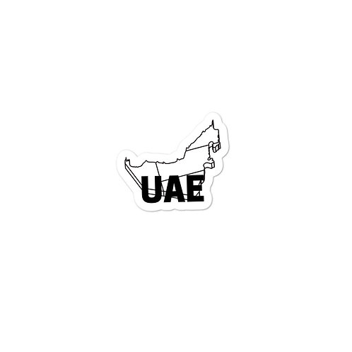 UAE Bubble-free stickers