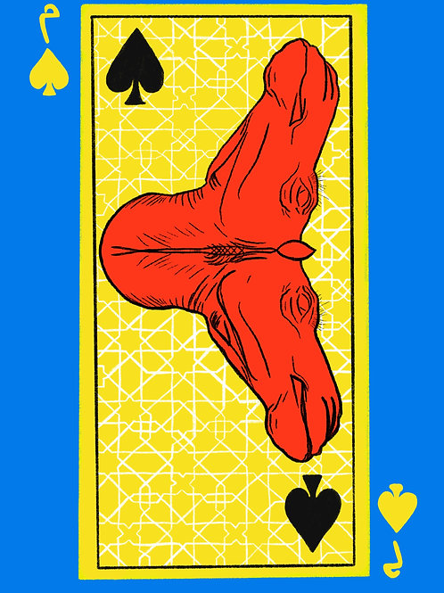 Red Camel of Spades