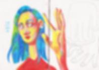 иллюстрция цветными карандашами