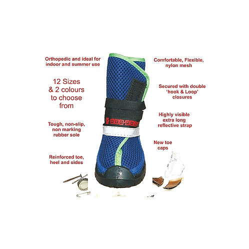 Summer orthopedic shoes for dogs