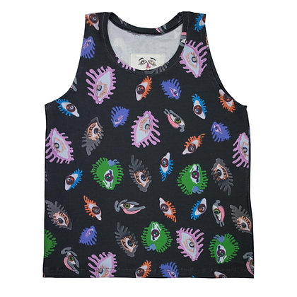 """""""EYES ALL OVER"""" Tank Top"""