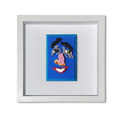 """""""Blue Face"""" Painting"""