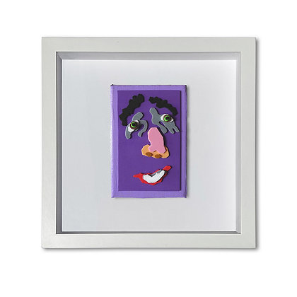 """""""Purple Face"""" Painting"""