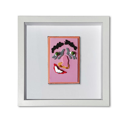 """""""Pink Face"""" Painting"""