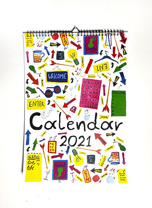 """""""2021 Calendar"""" for a funky New Year"""