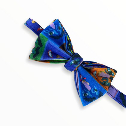 """""""Colourful Faces"""" Bow Tie"""