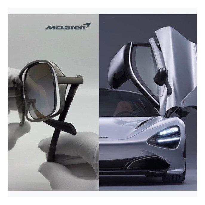 View and Design your McLaren Eyewear