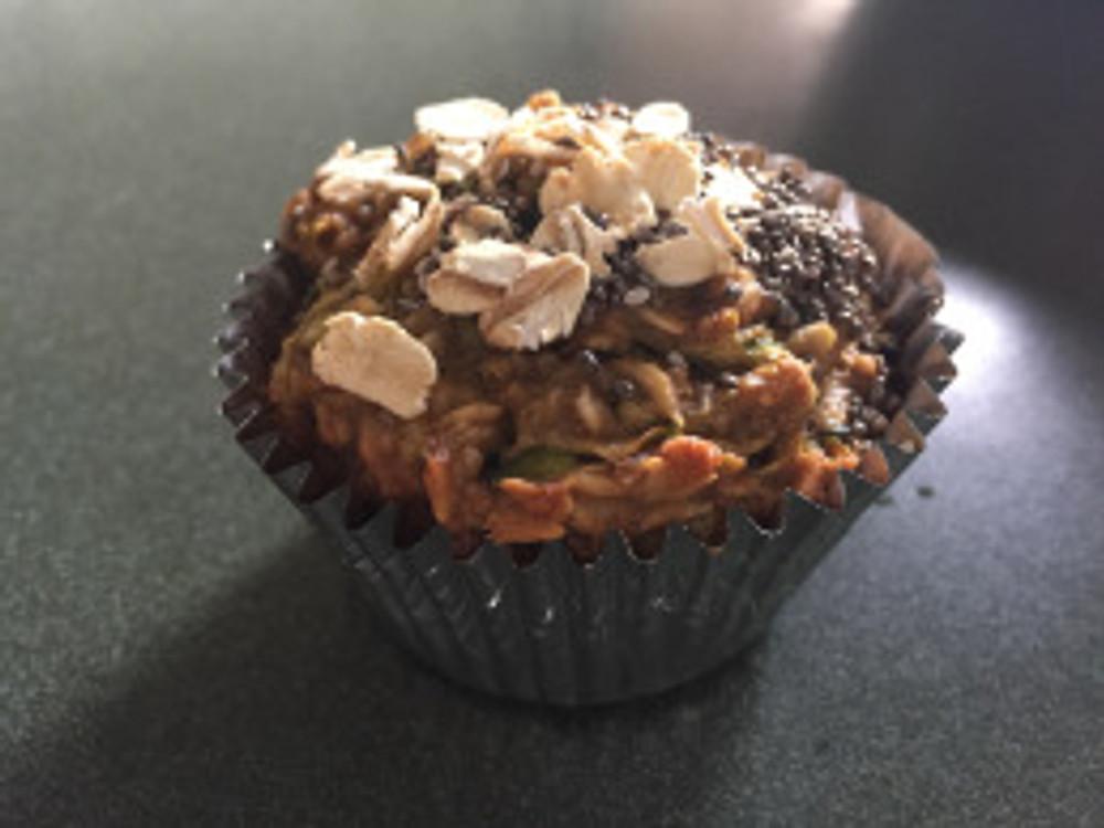 Muffin de zuchinni no flour no sugar