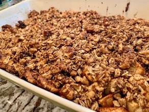 Apple-Nut Crisp Bake