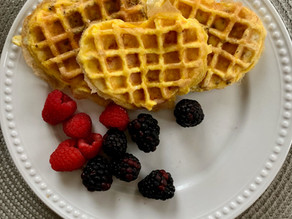 Waffles de Huevo / Egg Waffles