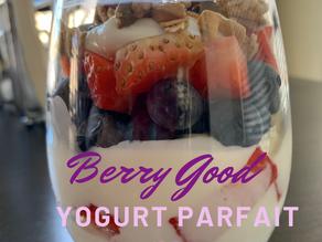 Berry-Good Yogurt Parfait