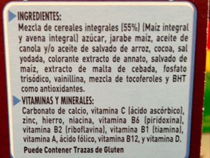 Como leer una etiqueta nutricional Parte 2