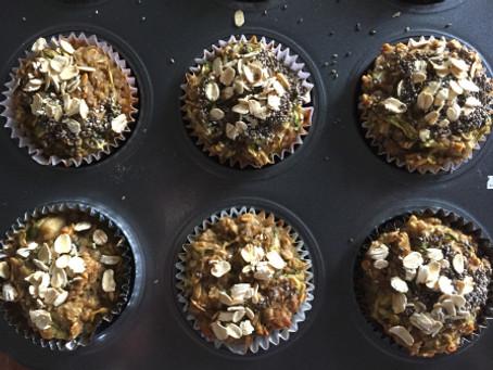 Zucchini Muffins (flour-less)
