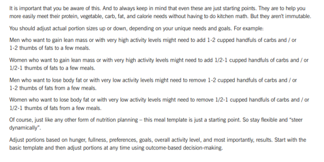 IMPORTANT THINGS ABOUT HAND PORTION CONTROL2