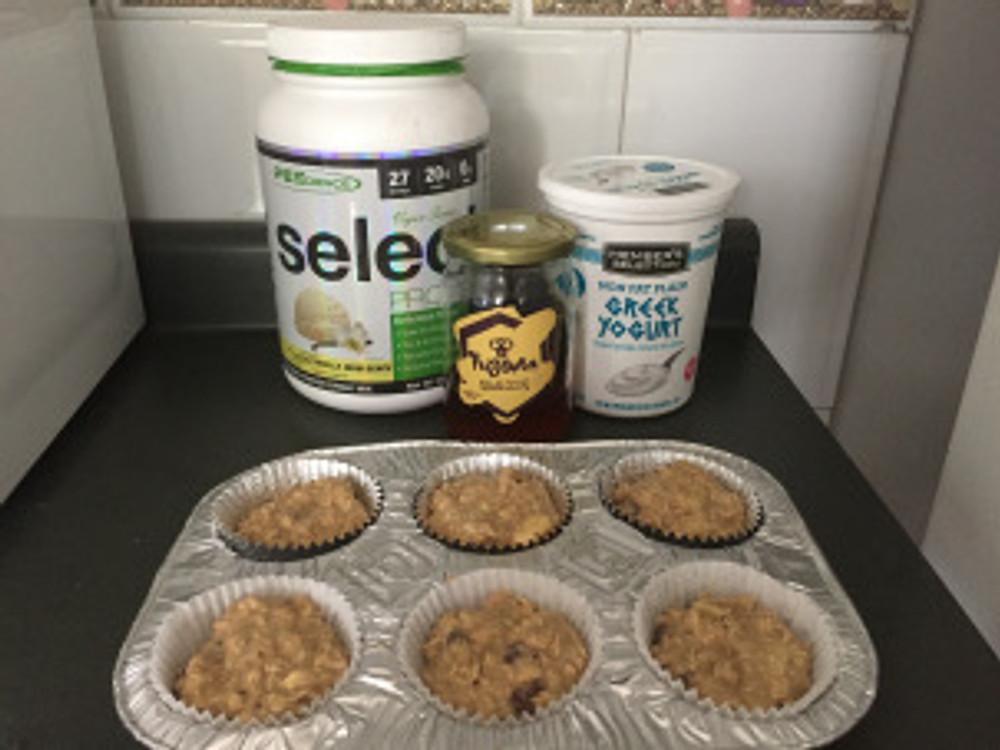 Muffins de proteina original