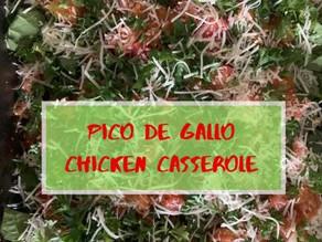 Pico de Gallo Chicken Casserole