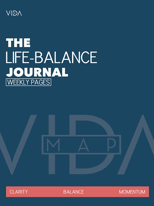 The Work-Life Balance Journal: 3-Month Weekly Goals Planner and Journal