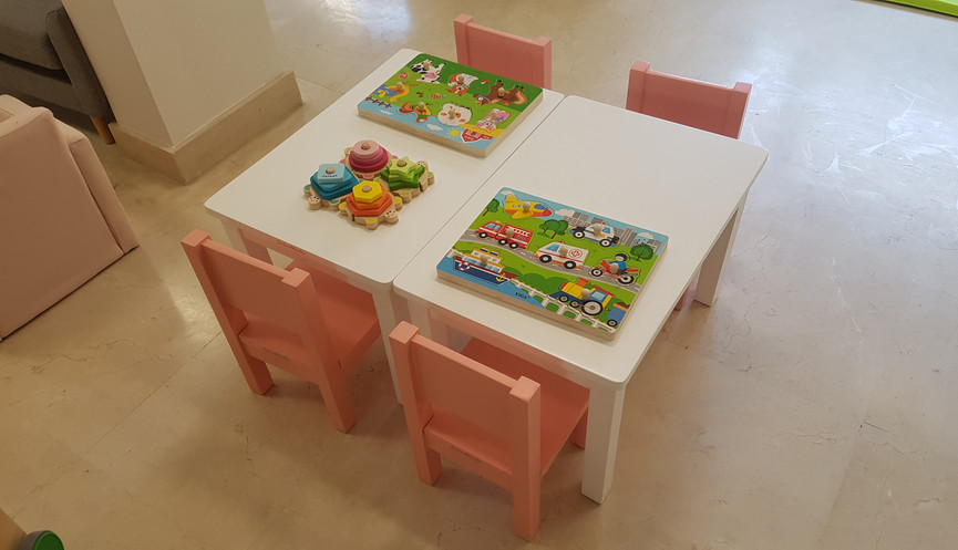 Pôle jeux sur table