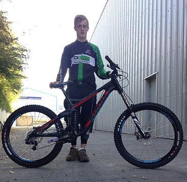 Thomas Kilmurray National Junior Downhill Cycle Racing