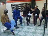 Actors of G'art in Rehersal