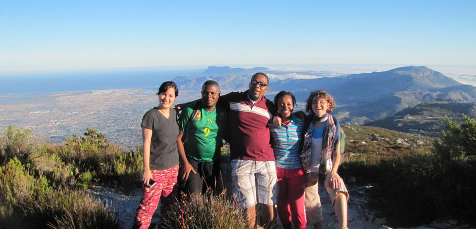 RFGI Team Table Mountain Cape Town