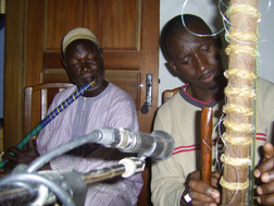 Recording SNB Sound Track Flute and Kora